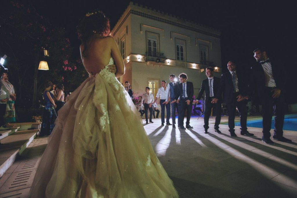dancing party wedding villa mon repos taormina sicily