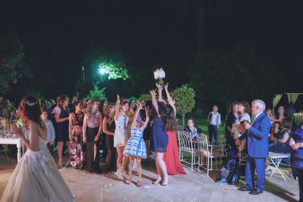 bride bouquet throwing taormina wedding villa mon repos