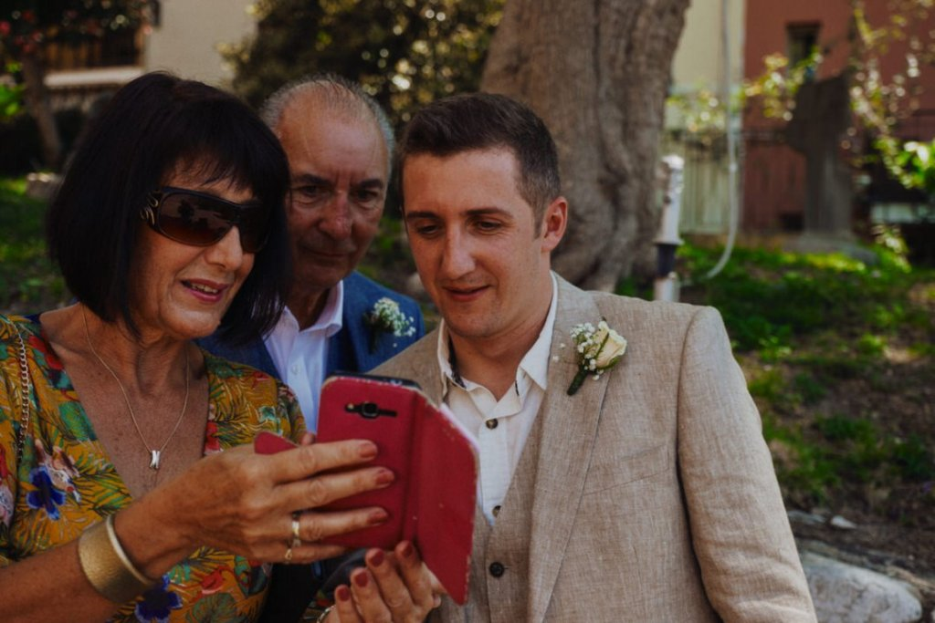 parents of groom photography