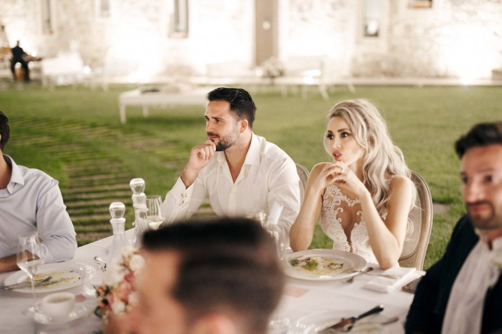 wedding dinner in sicily