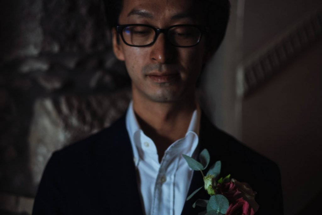 groom japanese in taormina