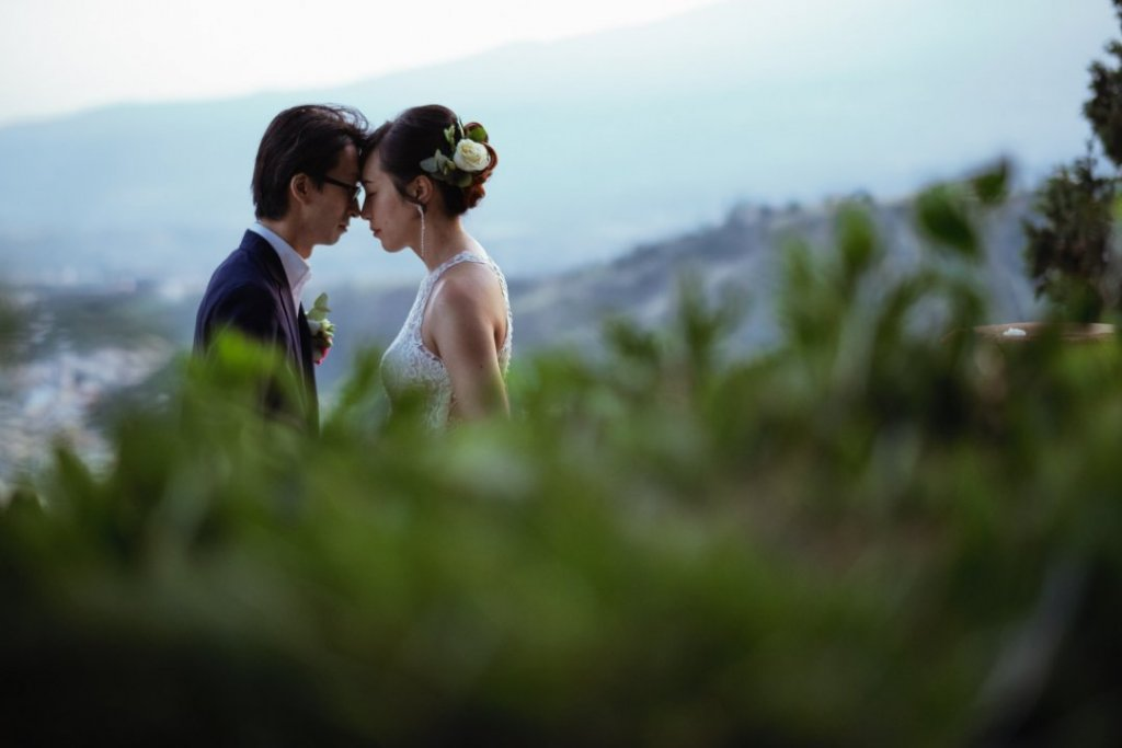 intimate moments in taormina wedding sicily