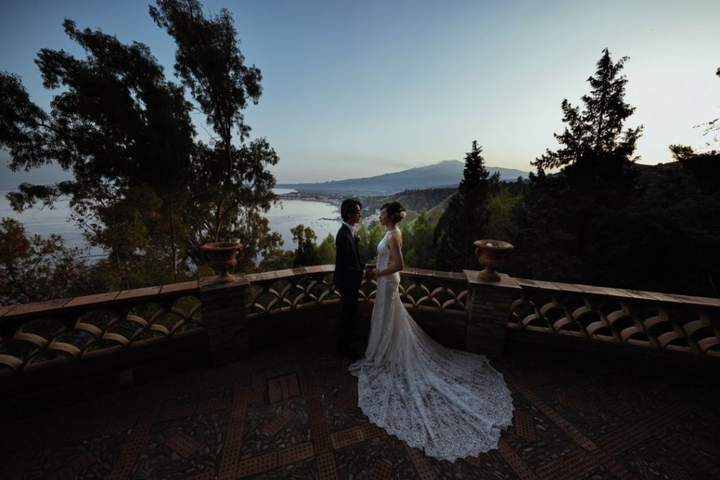 etna taomina landscape wedding