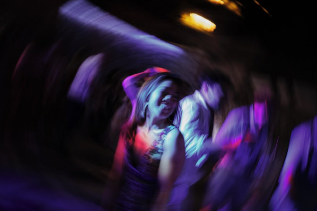 dancing in the night during wedding party in taormina la plage resort isola bella