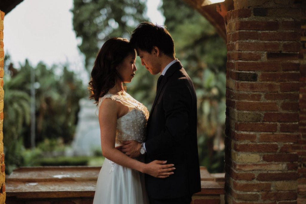 intimate wedding taormina