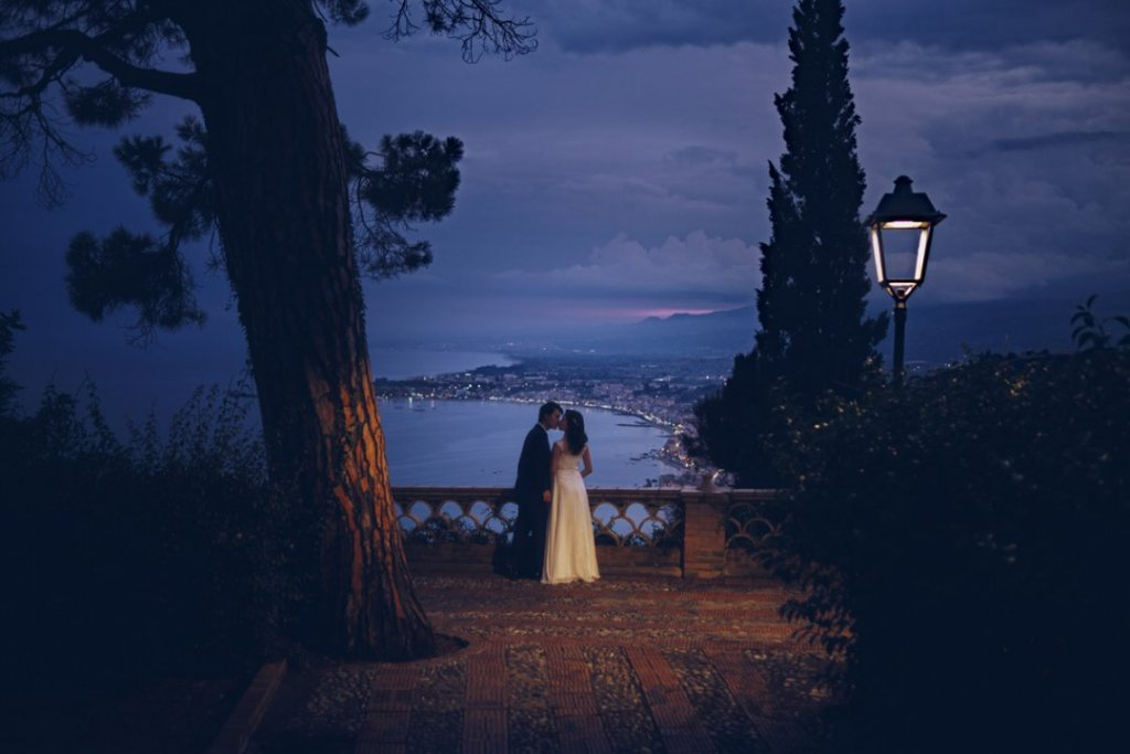 japanese wedding in italy taormina landscape etna